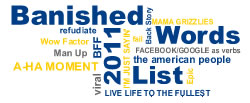 LSSU's 36th annual List of Banished Words